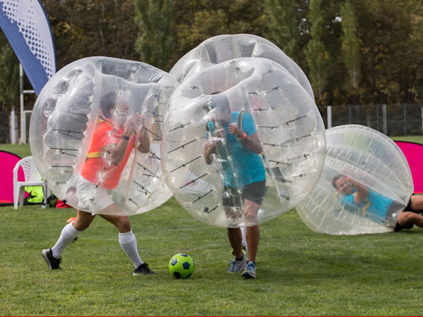 Bubble Football Heamoor, Penzance