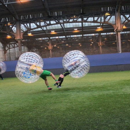 Bubble Football Glenrothes, Fife