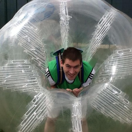 Bubble Football Bath