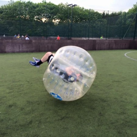 Bubble Football Stenhousemuir, Falkirk