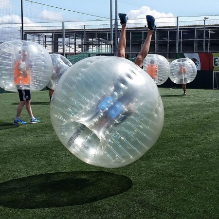 Bubble Football Brecon